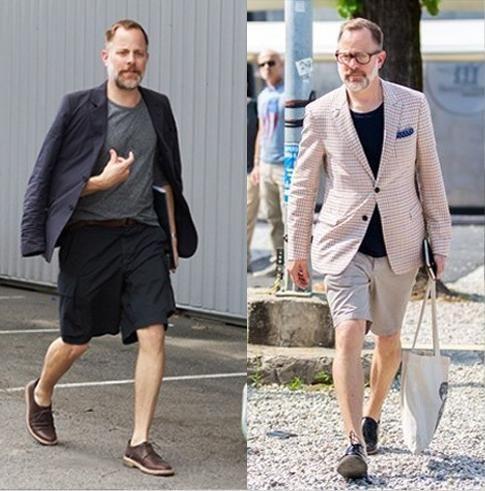跟尼克森学做一个春夏短裤绅士